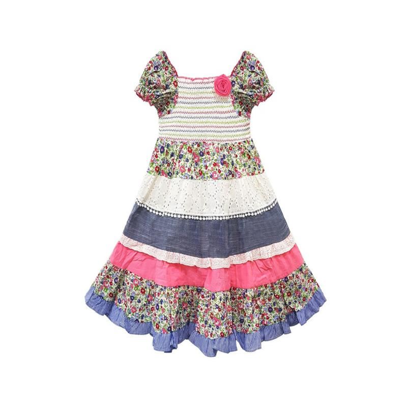 Baby Girl's Patchwork Gypsy Style Dress