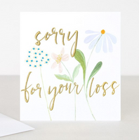 sorry for your loss card by Caroline Gardner