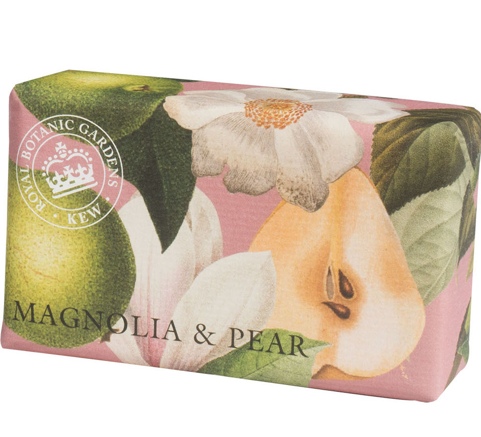 magnolia and grape luxury soap, English Soap Company.