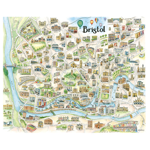 bristol map by Kate chidley