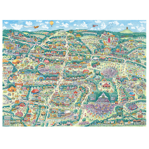 kate chidley glastonbury map