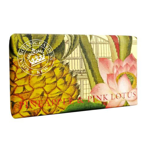 pineapple and pink lotus kew garden soap