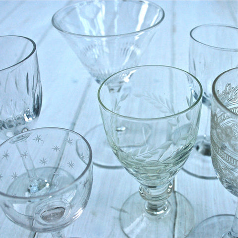 Set Of Vintage Glasses