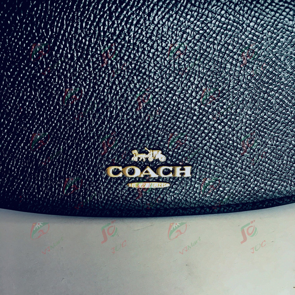 COACH ロングウォレット (農青色)(内側にポケット)
