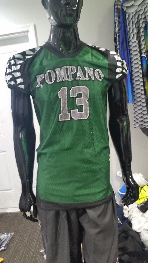 Pompano Eagles Football - Custom Full-Dye Jersey