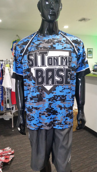 Sit on My Base - Custom Full-Dye Jersey