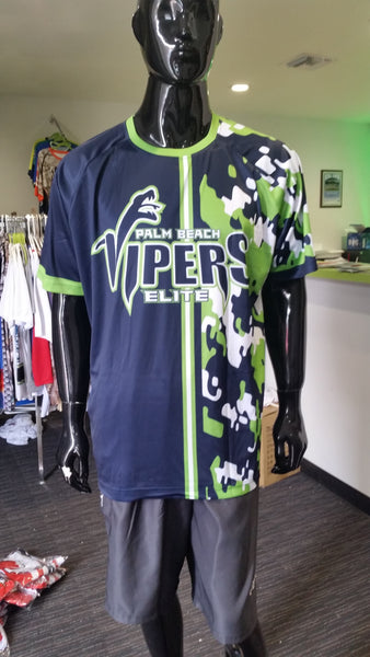 Palm Beach Vipers - Custom Full-Dye Jersey