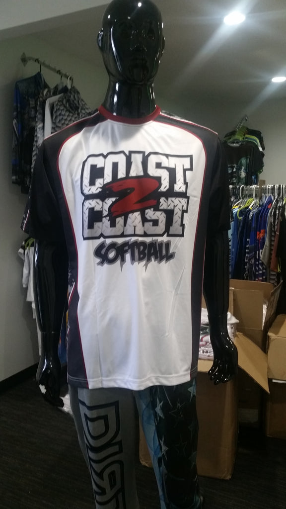 Coast 2 Coast - Custom Full-Dye Jersey