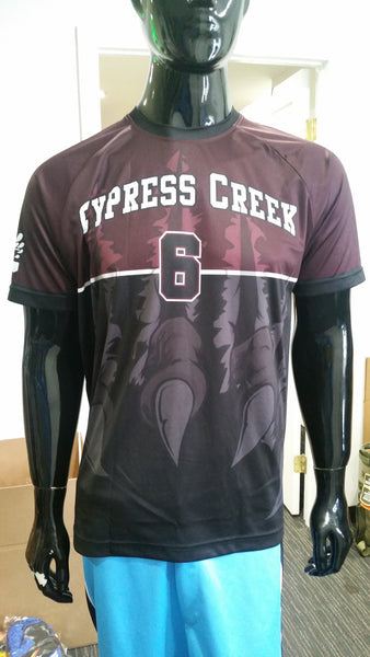 Cypress Creek Claws - Custom Full-Dye Jersey