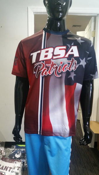 TBSA Patriots - Custom Full-Dye Jersey