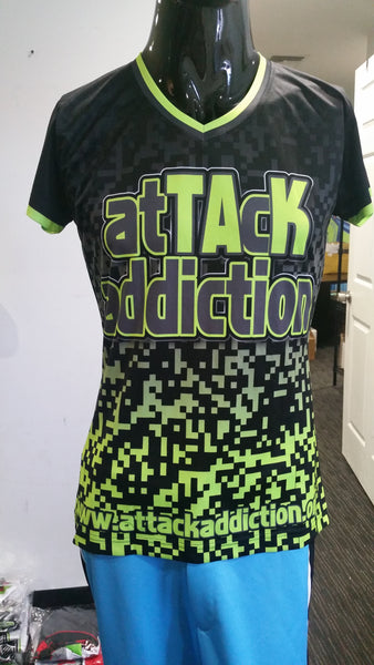 Attack Addiction - Custom Full-Dye Jersey