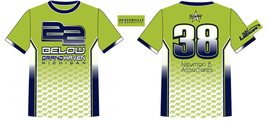 22 Below_2 - Custom Full-Dye Jersey