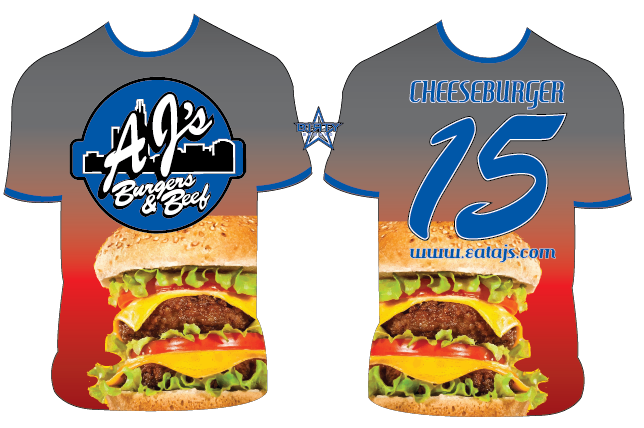 AJs Burger & Beef - Custom Full-Dye Jersey