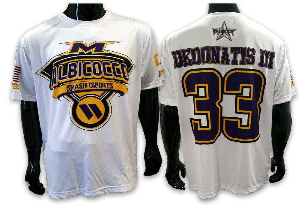 Albicocco - Smash It Sports - 5 Custom Full-Dye Jersey