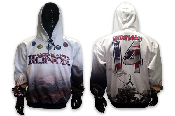 American Honor - Custom Full-Dye Hoodie