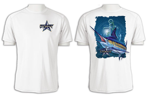 Marlin, Anchor Series - Short Sleeve Polyester Shirt