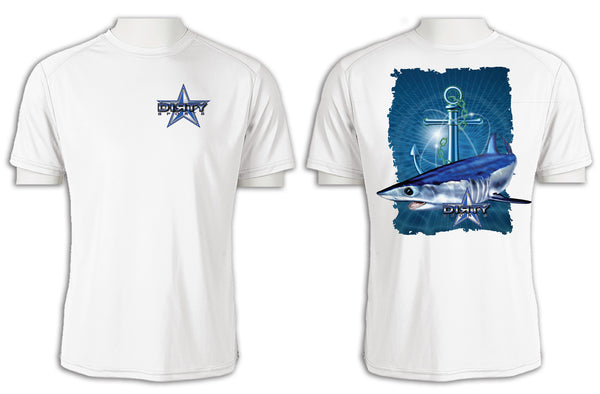 Shark, Anchor Series - Short Sleeve Polyester Shirt