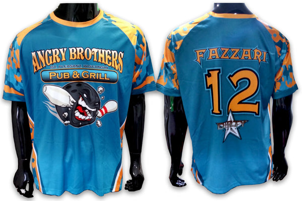 Angry Brother Pub & Grill - Custom Full-Dye Jersey