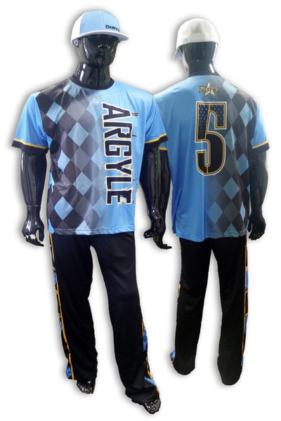 Argyle - Complete Uniform - Full-Dye Jersey, Pants, Hat