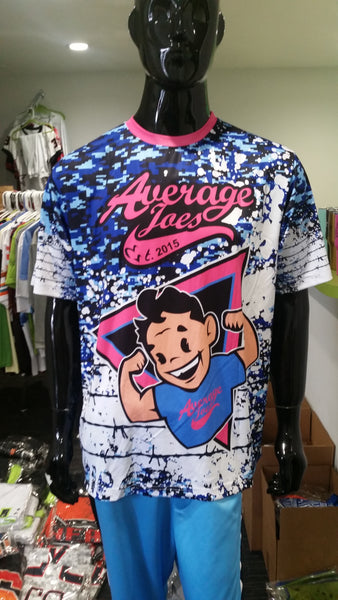 Average Joes, Camo and Wire - Custom Full-Dye Jersey