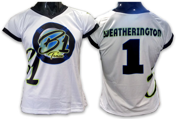 B1 Team, Ladies - Custom Full-Dye Jersey