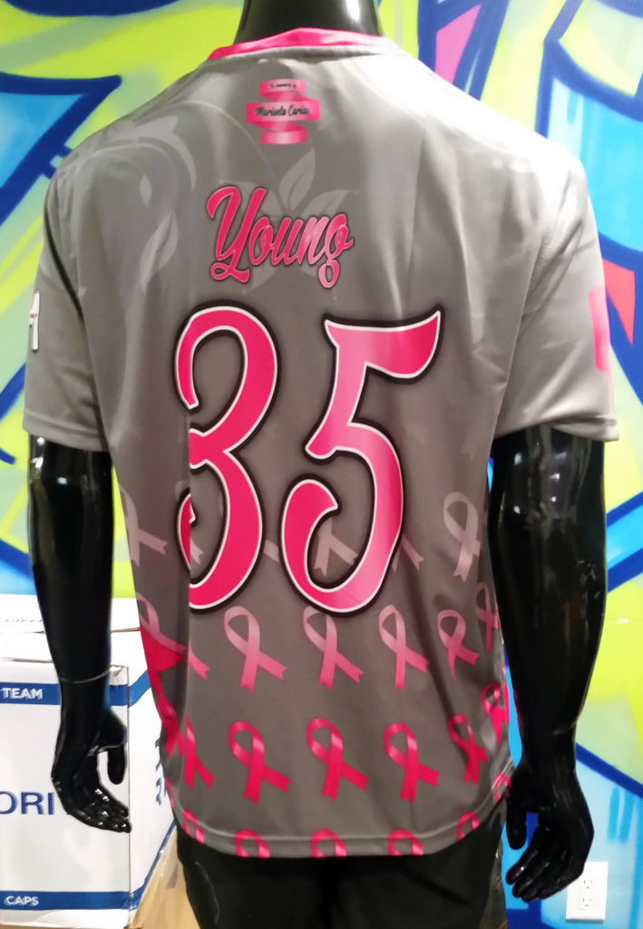 BCA, Breast Cancer Awareness, 2018 - Custom Full-Dye Jersey