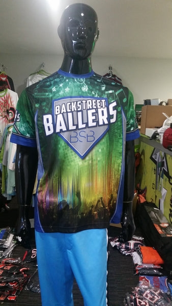 Backstreet Ballers - Custom Full-Dye Jersey