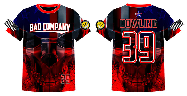 Bad Company - Custom Full-Dye Jersey