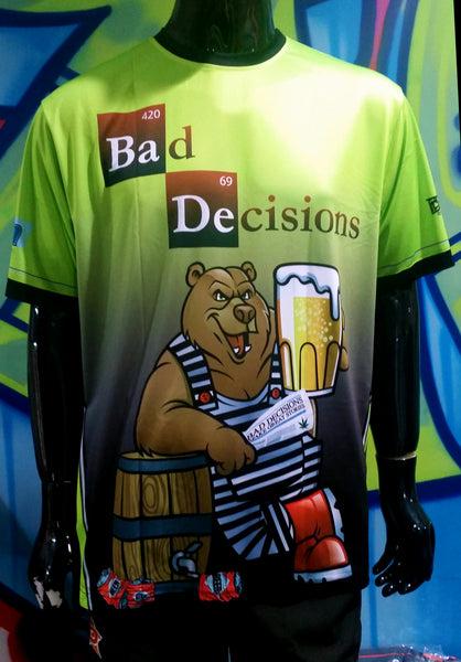Bad Decisions - Custom Full-Dye Jersey