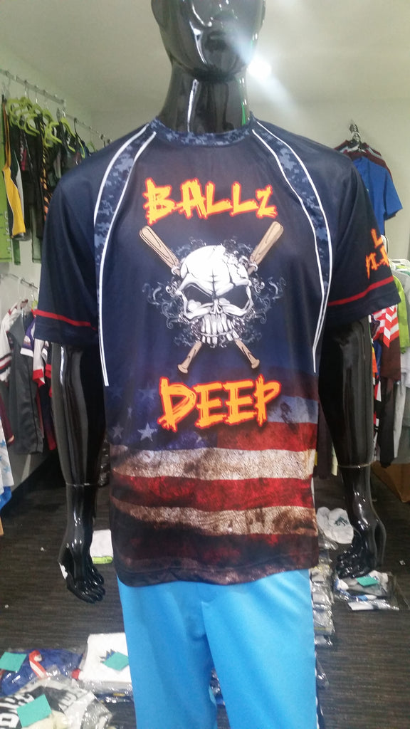 Ballz Deep - Custom Full-Dye Jersey