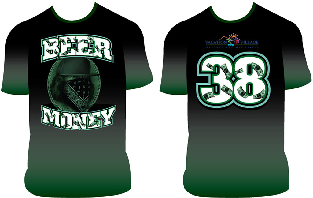 Beer Money_2 - Custom Full-Dye Jersey