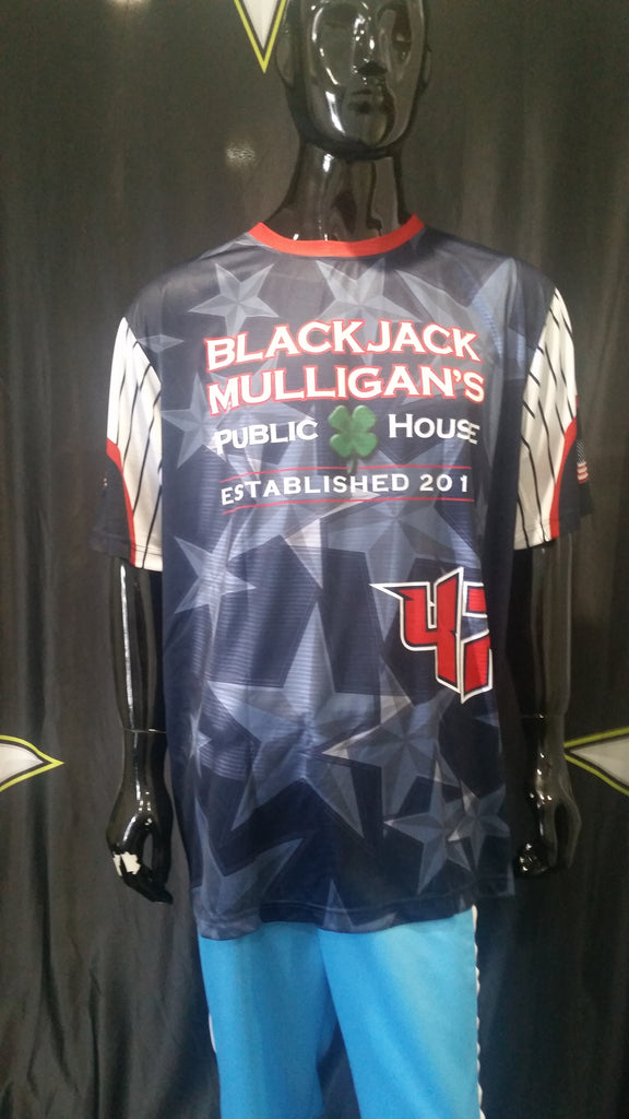 Black Jack Mulligan's - Custom Full-Dye Jersey