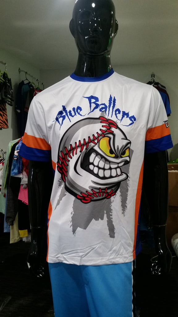 Blue Ballers - Custom Full-Dye Jersey