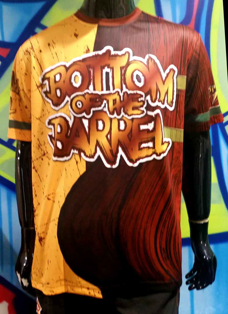 Bottom of the Barrel - Custom Full-Dye Jersey