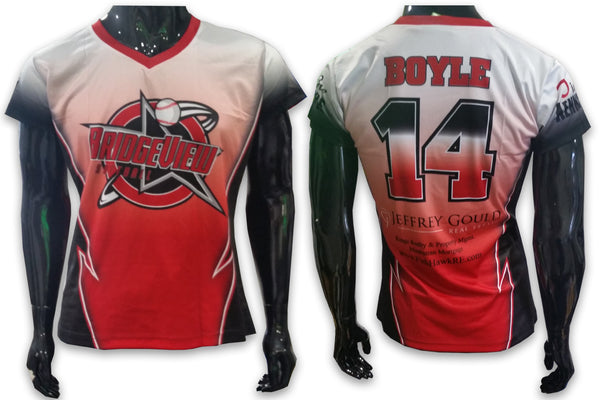 Bridgeview, Ladies - Custom Full-Dye Jersey