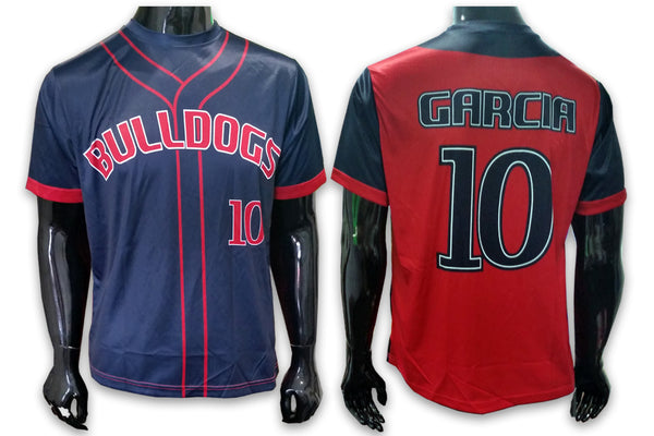 Bulldogs: Seemingly Seamed - Custom Full-Dye Jersey