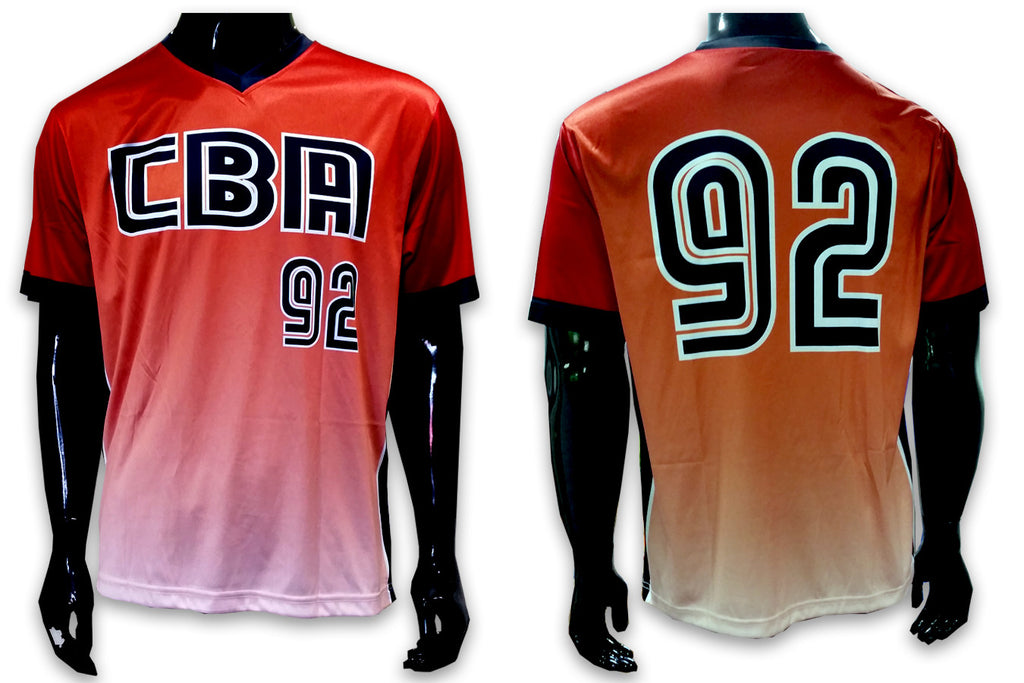 CBA, Red - Custom Full-Dye Jersey