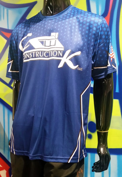 CK Construction - Custom Full-Dye Jersey