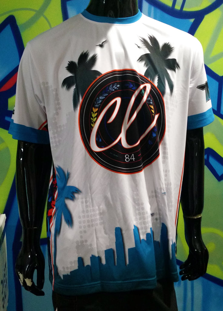 Cannabis Life, Tropical - Custom Full-Dye Jersey
