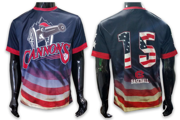 Cannons - USA - Custom Full-Dye Jersey