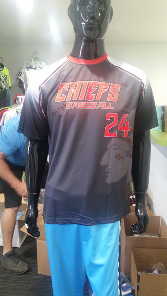 Chiefs Baseball 24 - Custom Full-Dye Jersey