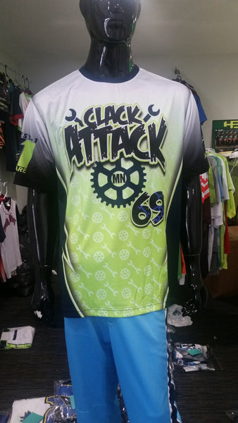 Clack Attack - Custom Full-Dye Jersey