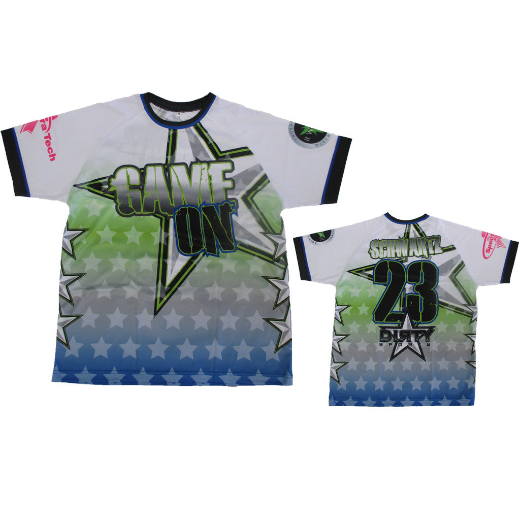 Sample: Custom Dye Sub Uniform - GAME ON