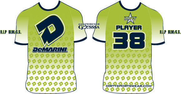 Sample: Custom Dye Sub Uniform - Dirty Demarini
