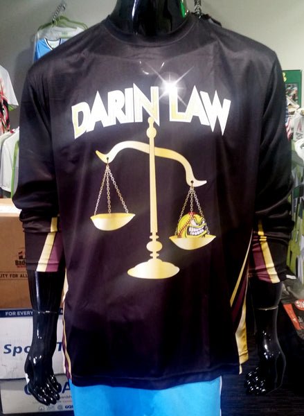 Darin Law, Long Sleeve - Custom Full-Dye Jersey