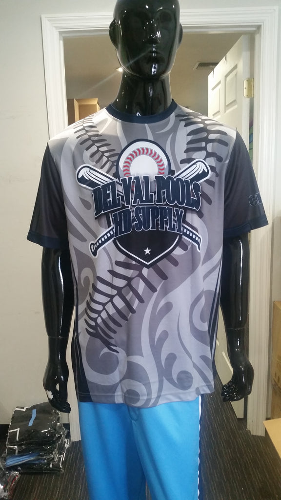 Del Val Pools - Custom Full-Dye Jersey