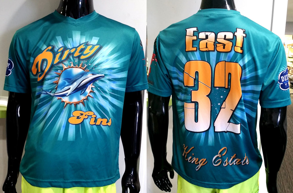 Dirty Fins - Custom Full-Dye Jersey