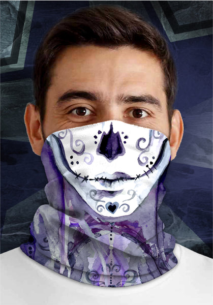 Day of the Dead 1, Dirty Sports Face Mask Shield
