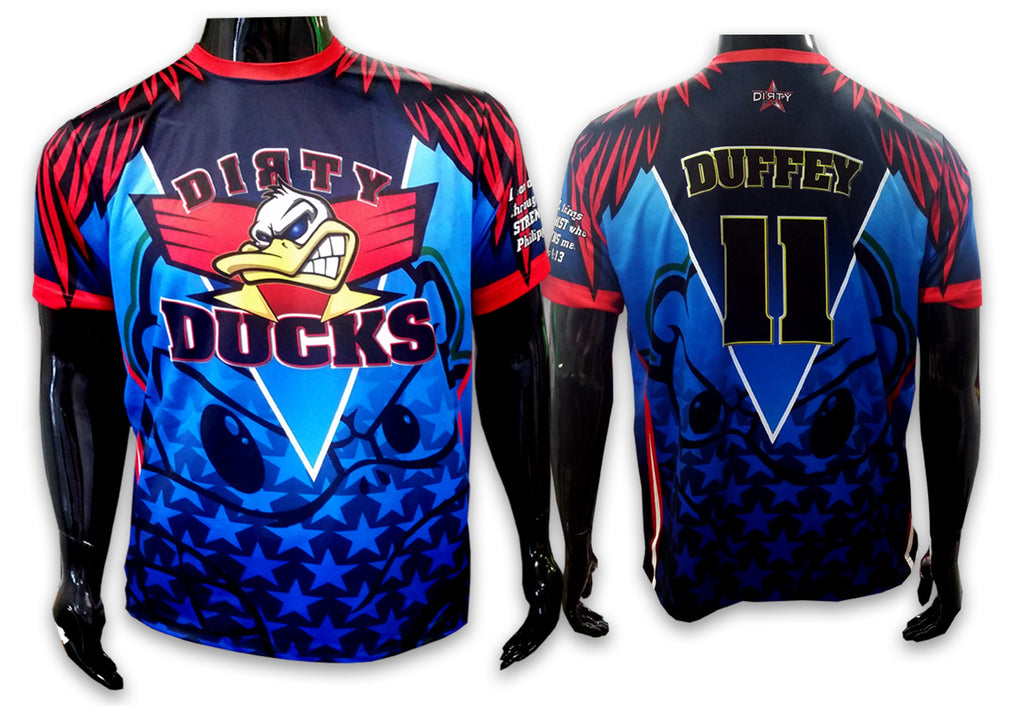 Dirty Ducks - Custom Full-Dye Jersey