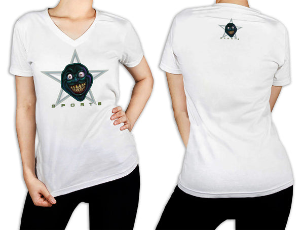 Women's White T-Shirt - Dirty Face